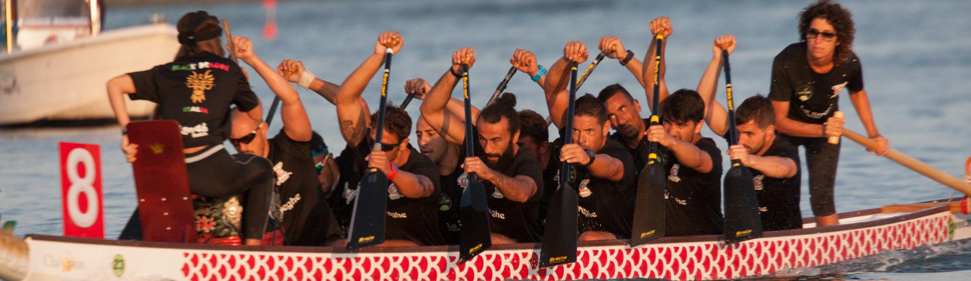 Campionato Italiano Fondo Dragon Boat Sabaudia