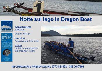 Sabaudia Notte sul Lago in Dragon Boat
